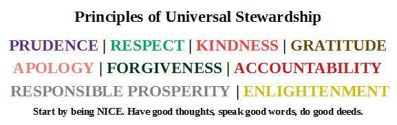 Principles of Universal Stewardship